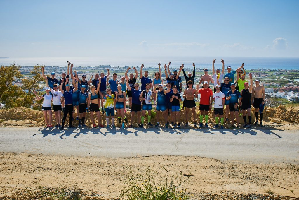 Сборы по триатлону клуба Tristyle в 2019 году